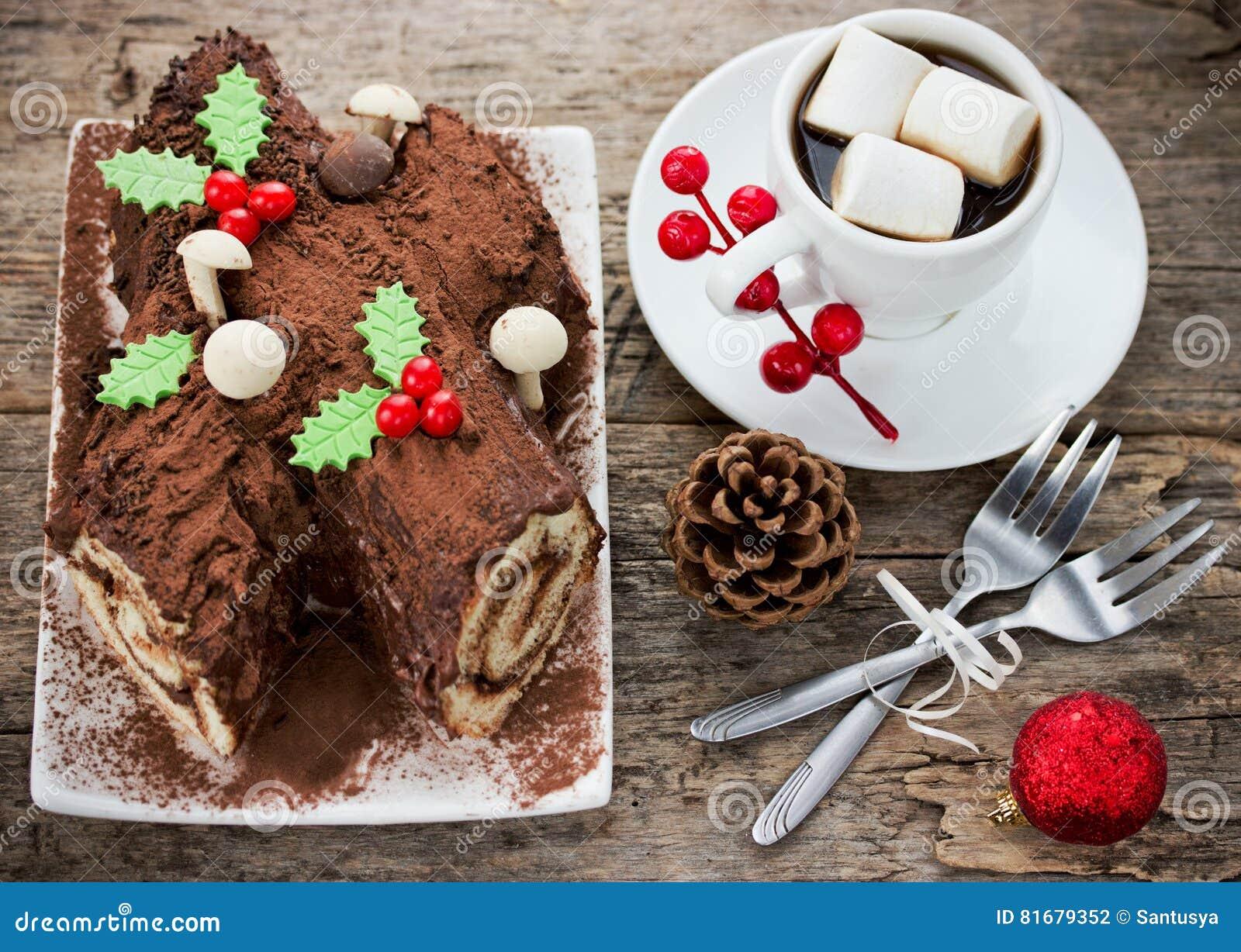 Bush Noel Cake Images