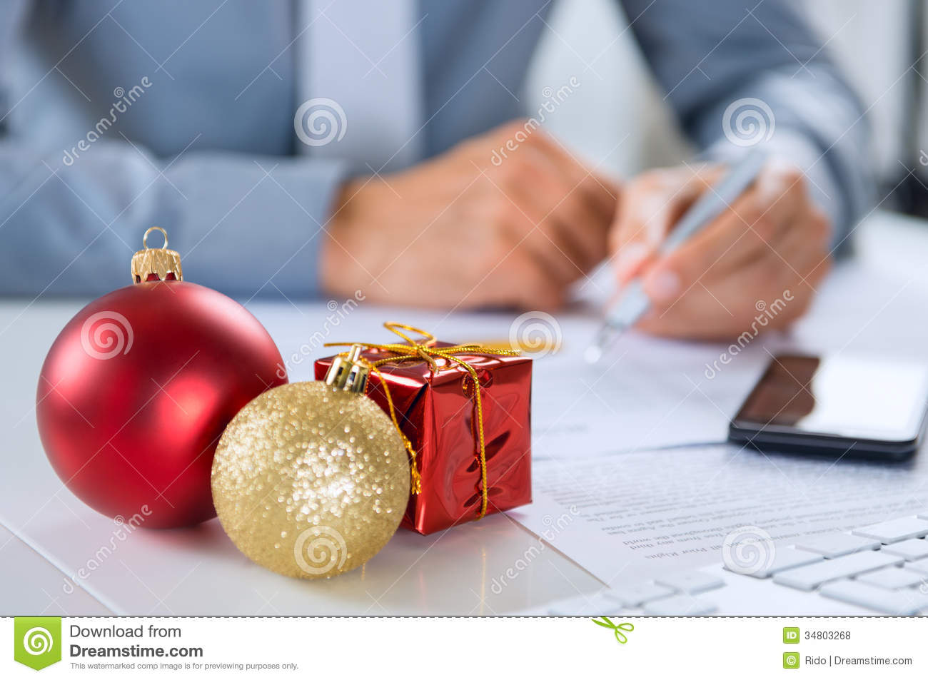 Christmas Business stock photo Image of christmas