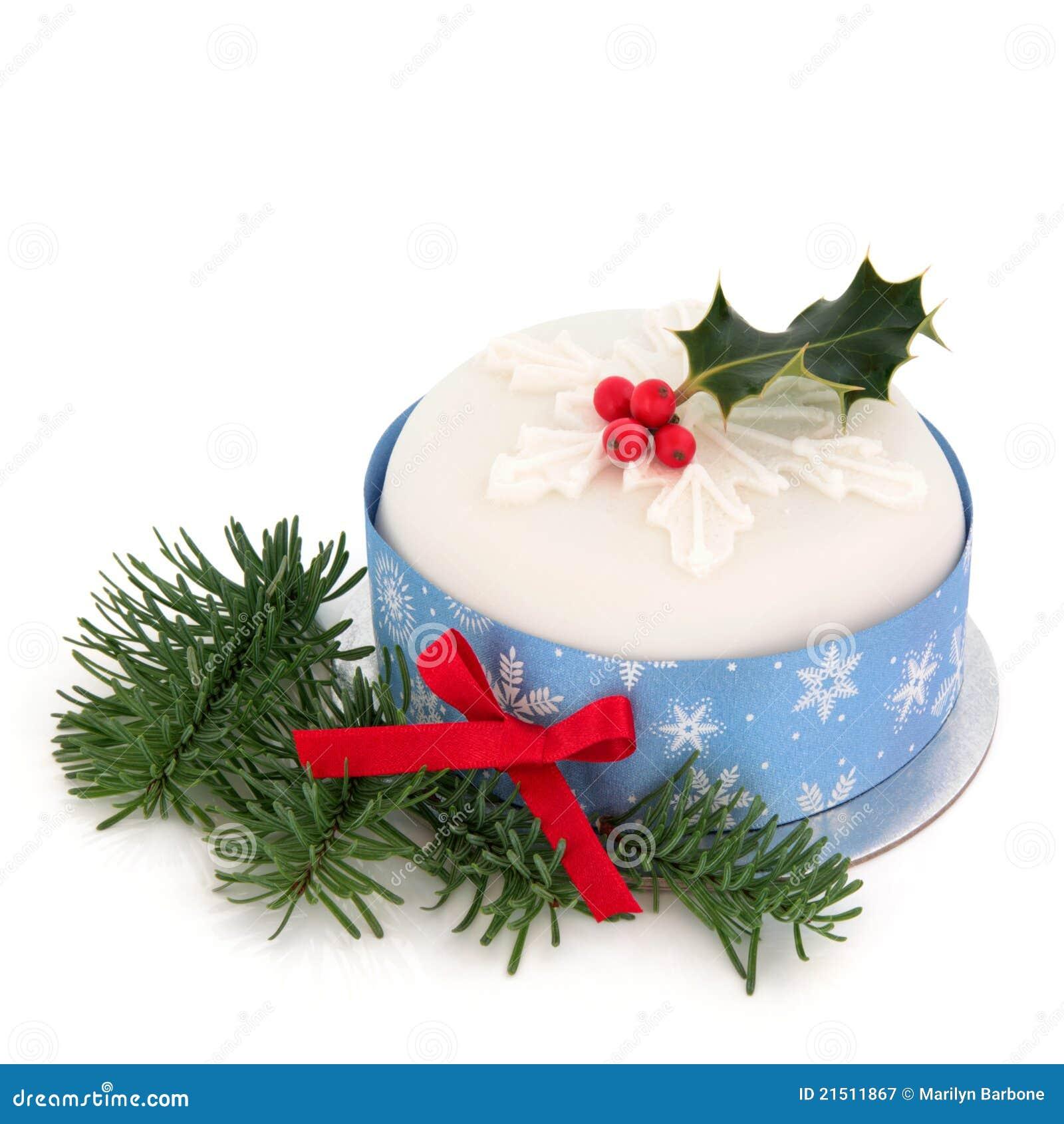 Christmas Cake stock image. Image of christmas, winter ...