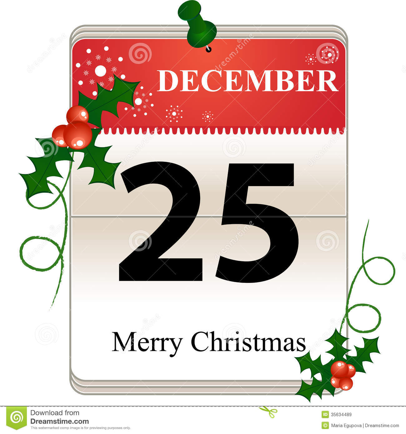 christmas calendar date royalty free stock images image