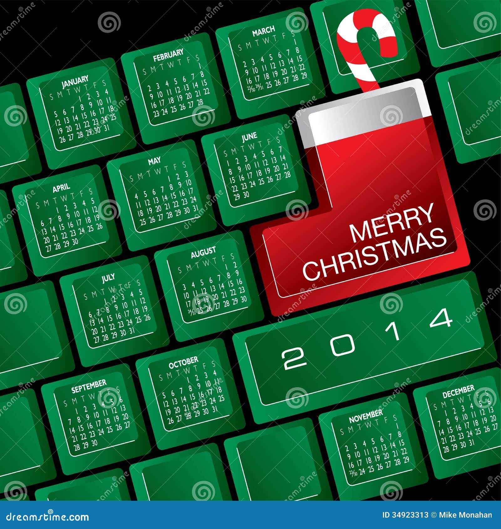 Christmas Candy Calendar