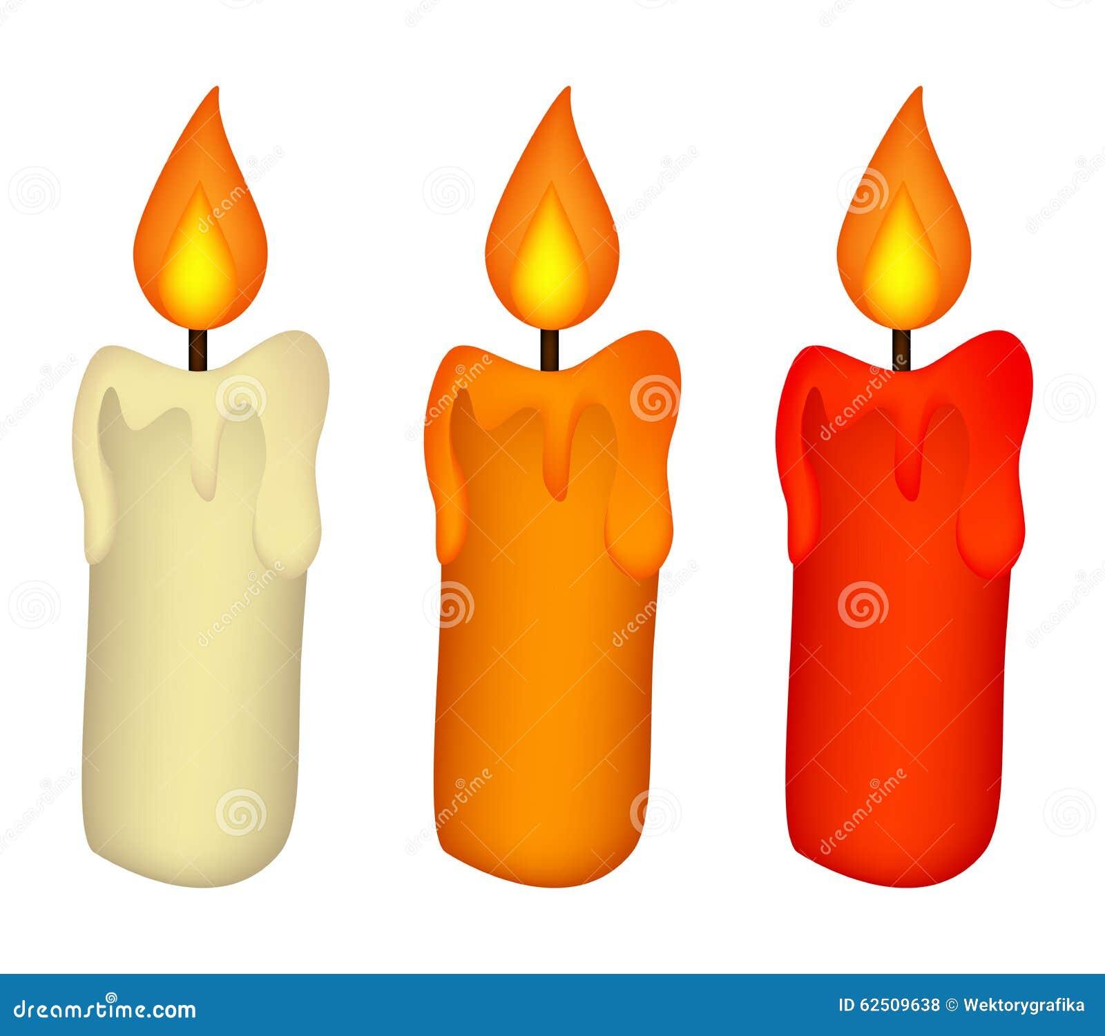 christmas burning candle isolated on a white stock photos image