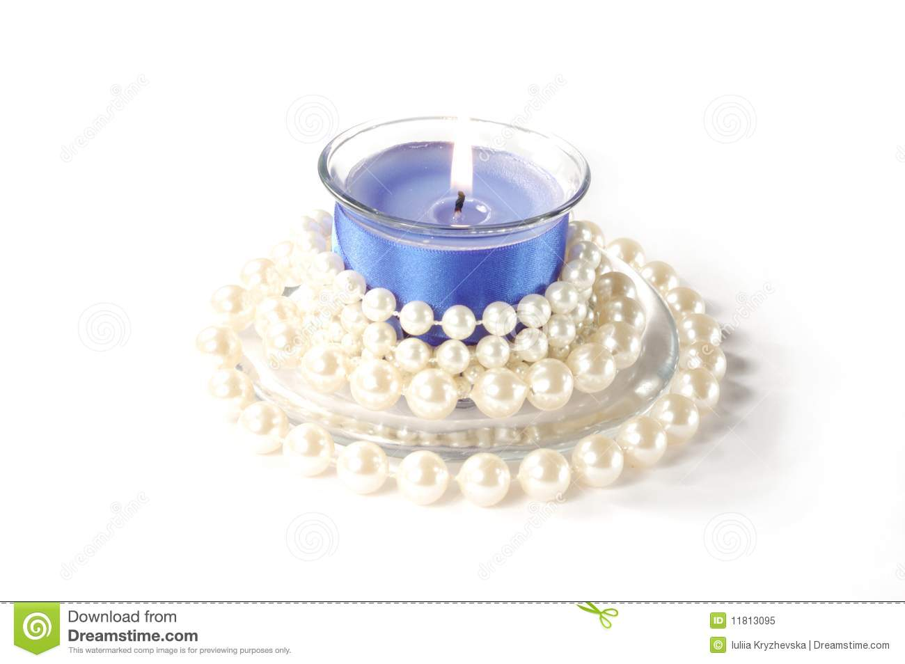 Christmas Candle On White Background Stock Image - Image of ... for Blue Candle White Background  186ref