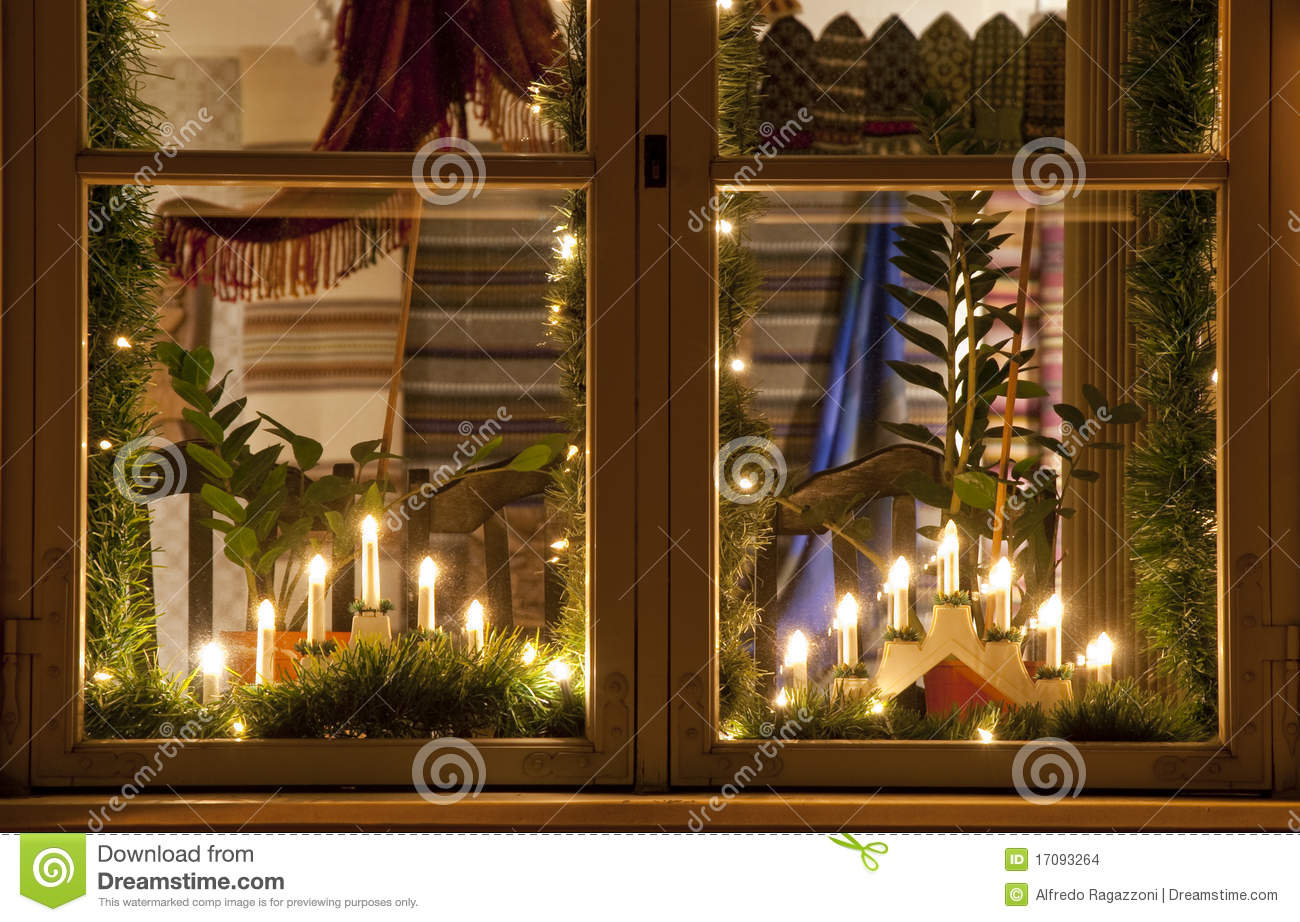 Electric Christmas Candles.Christmas Candles Stock Photo Image Of Glass Soft Candles