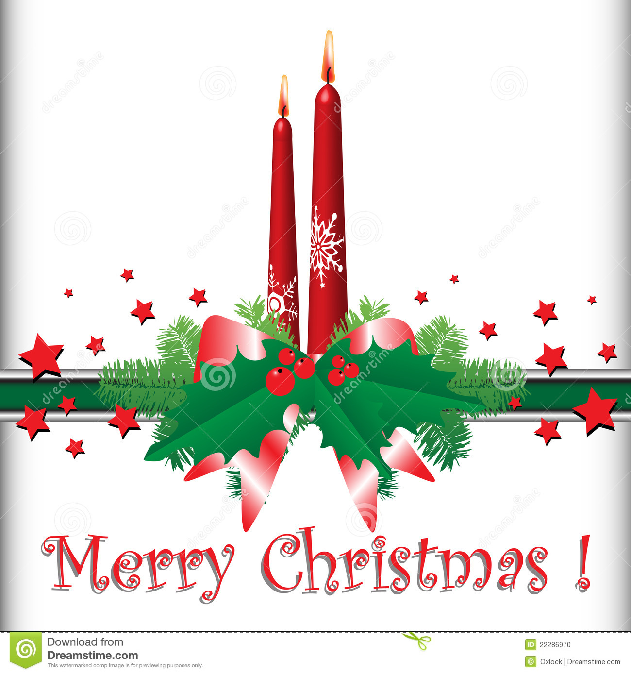 Go Back > Images For > Christmas Candle Clipart