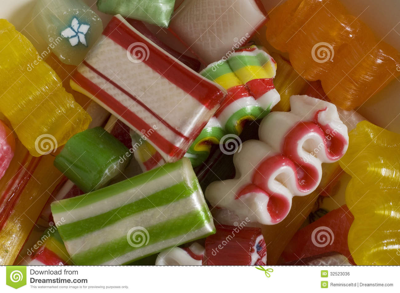 Christmas Candy Royalty Free Stock Image Image 32523036