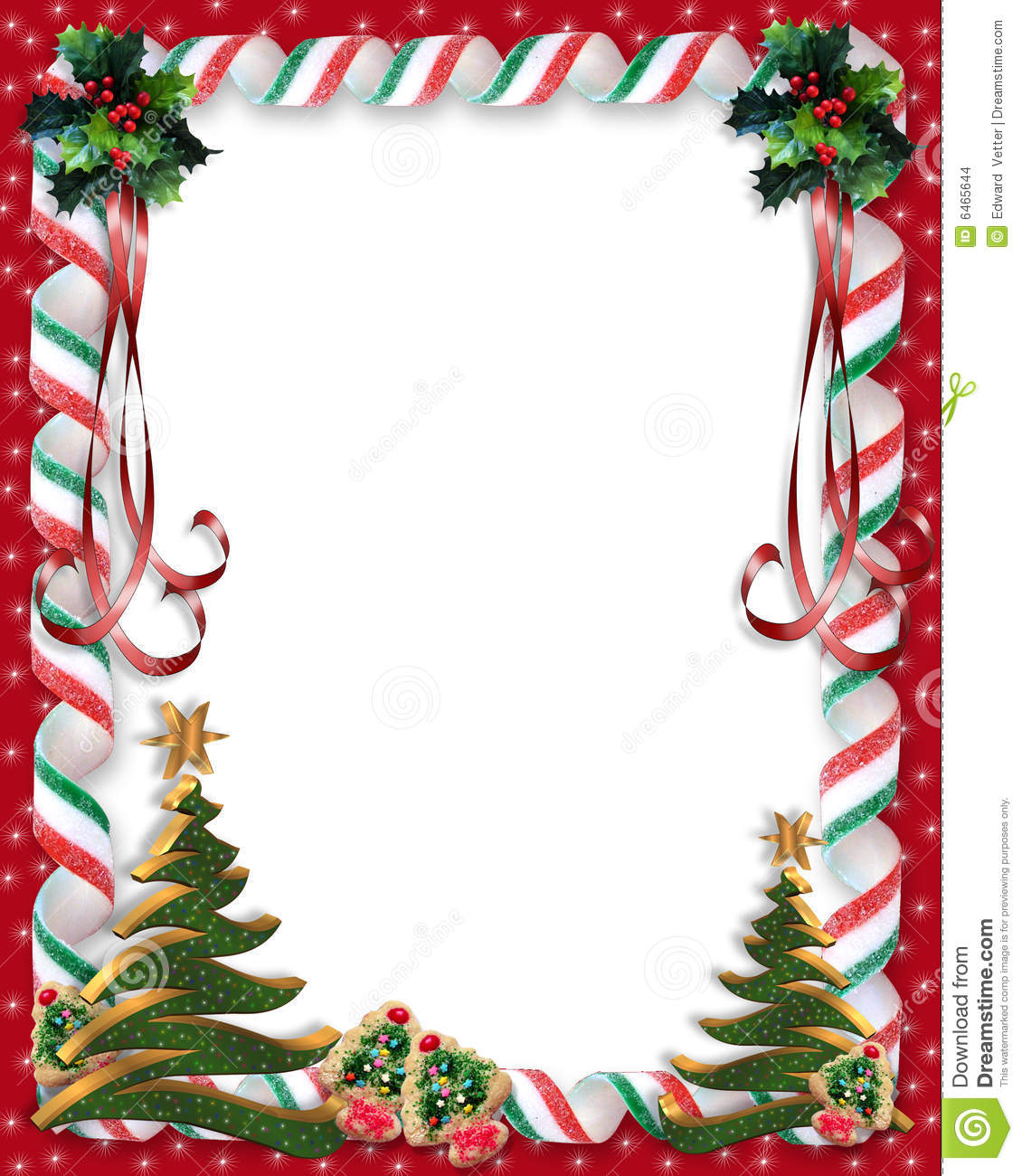 Image and Illustration composition for Christmas holiday background ...