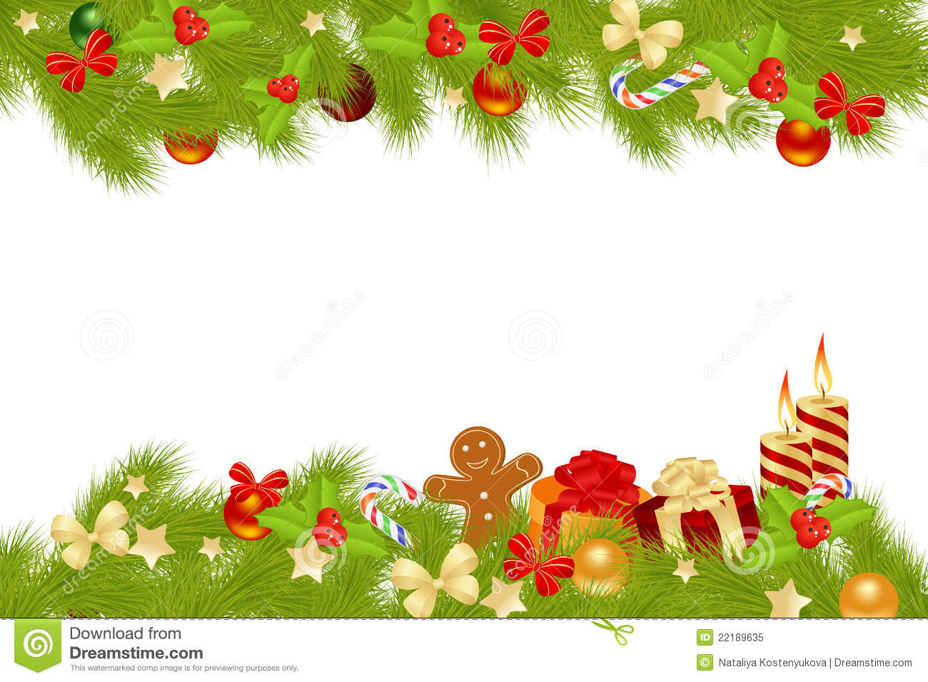 Christmas Card Background. Royalty Free Stock Photo ...