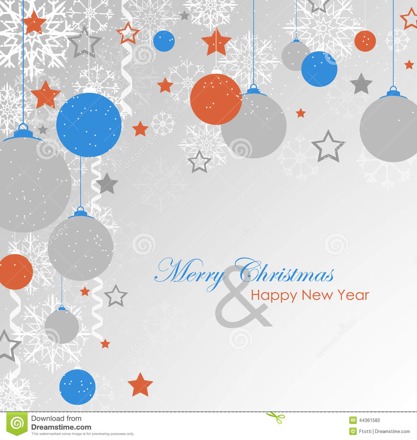 Orange And Blue Christmas Lights