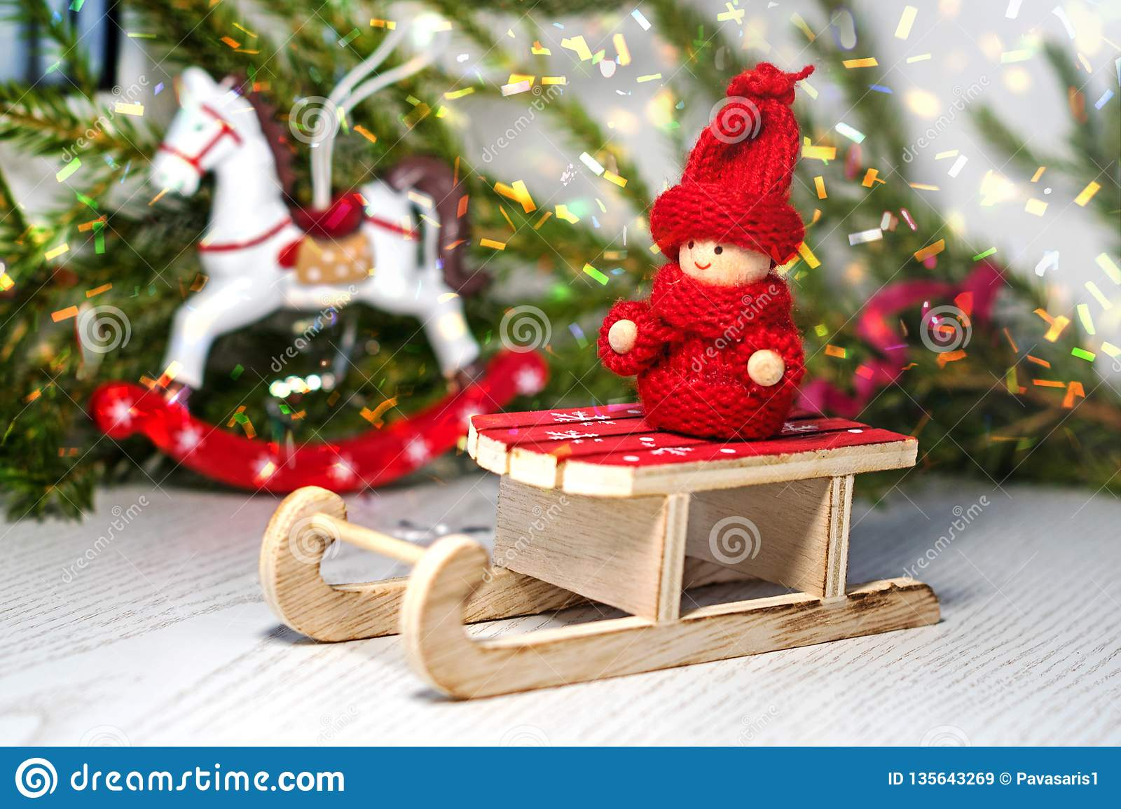 460 Christmas Sleigh Horse Photos Free Royalty Free Stock Photos From Dreamstime