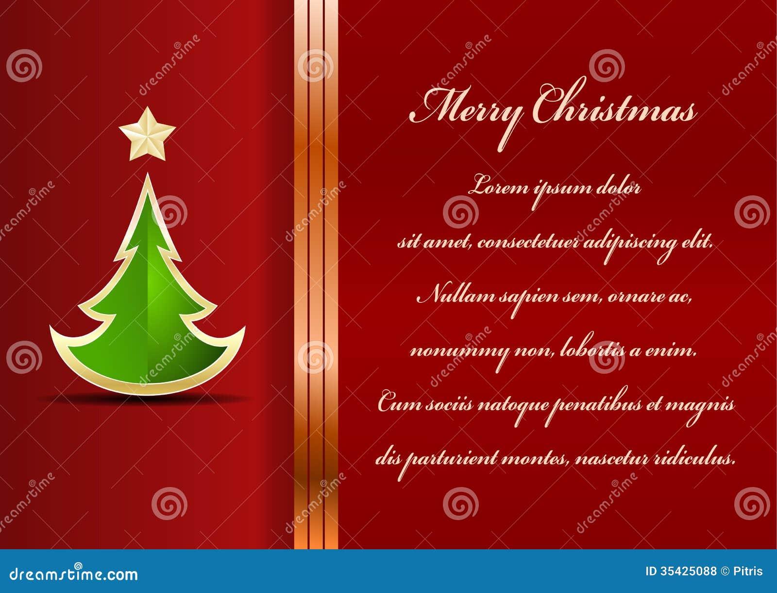 Christmas Card Stock Vector Image Of Font Seasonal