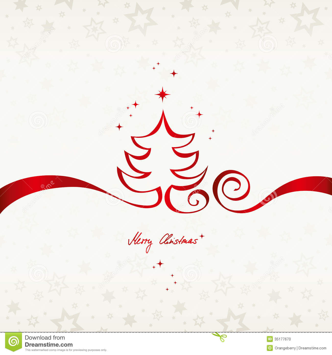 Christmas Card Free vector | 123Freevectors