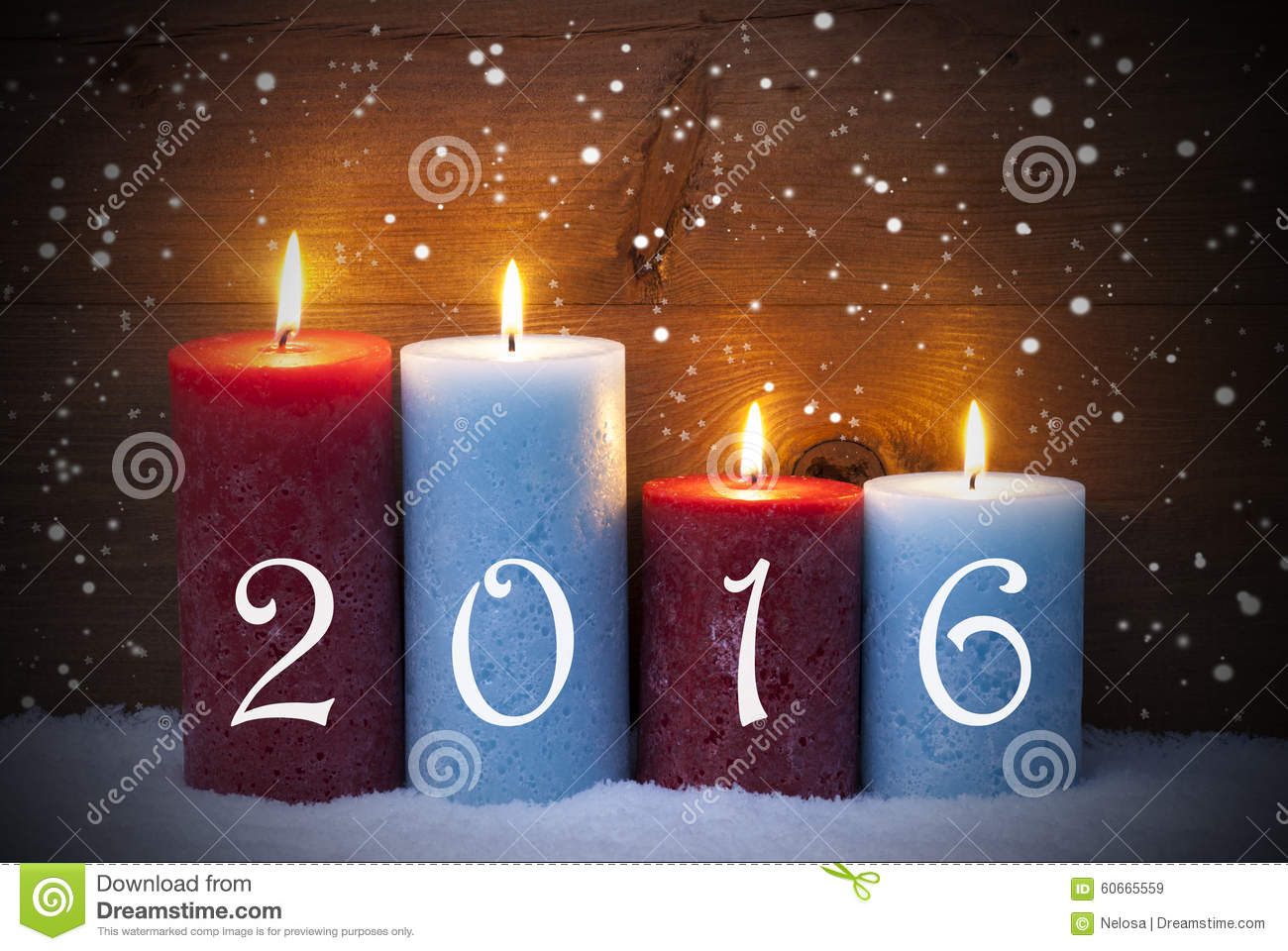 christmas card with four candles for advent 2016. Black Bedroom Furniture Sets. Home Design Ideas