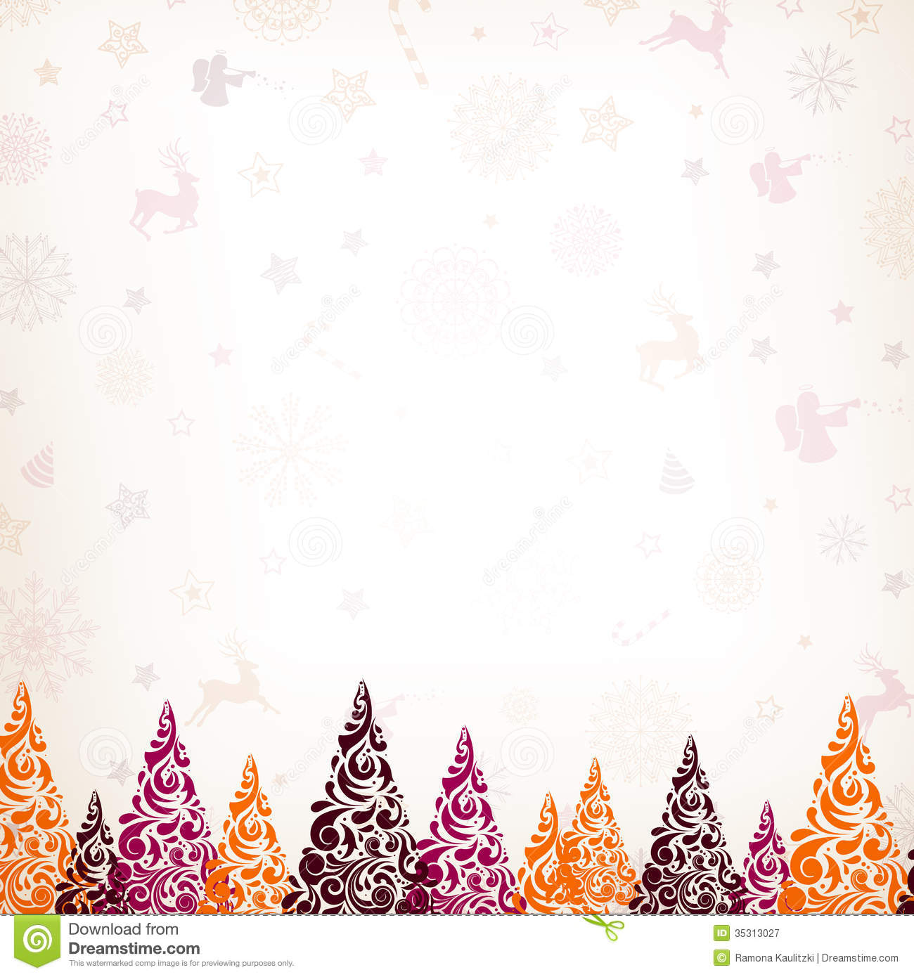 Christmas Card Background.Christmas Card Stock Illustration Illustration Of Modern