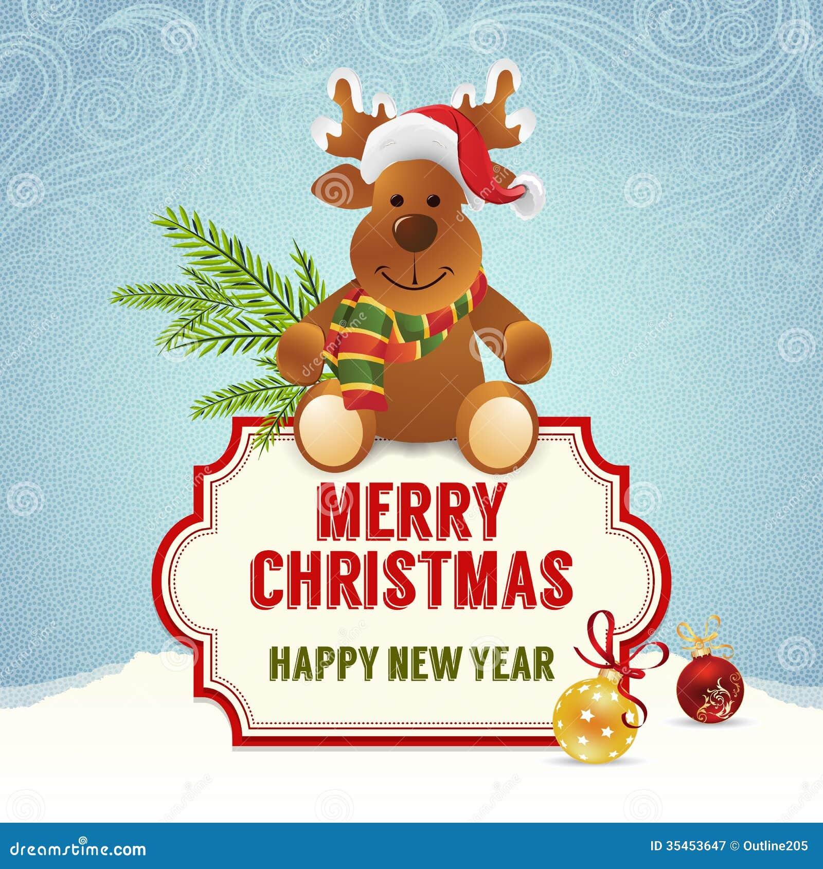 Christmas card stock illustration. Illustration of flakes - 35453647