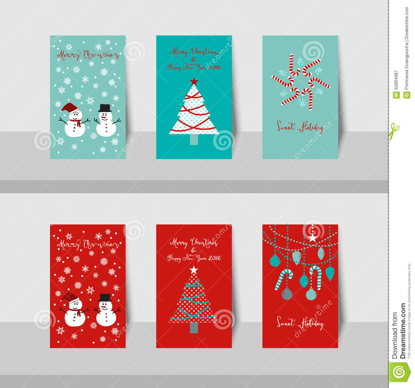Christmas card-S1 stock vector. Illustration of greeting - 62804987