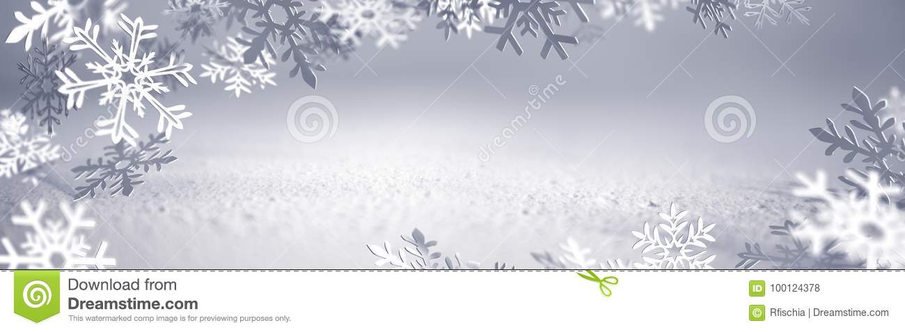 Christmas Card - Snowflakes Of Paper