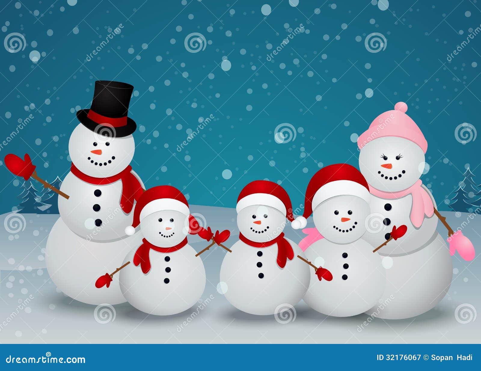 snowman family clip art free - photo #49