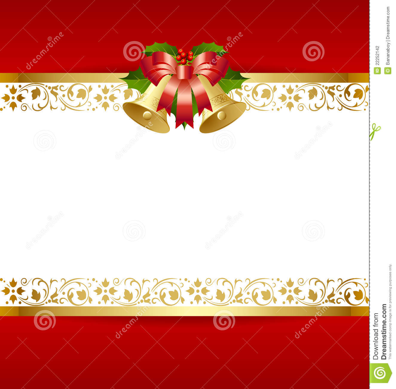 Christmas card template stock vector image of curves for Free christmas card templates for photographers