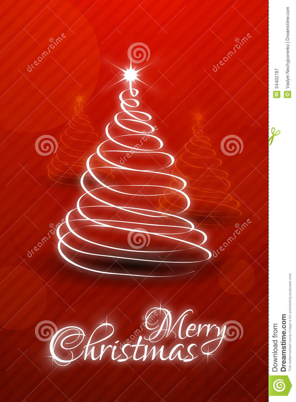 christmas card template stock vector  illustration of copy