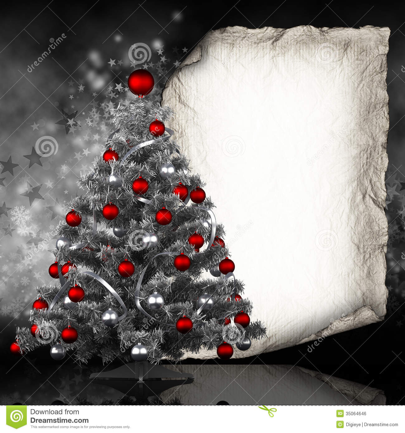 Free Christmas Card Templates.Christmas Card Template Stock Illustration Illustration Of