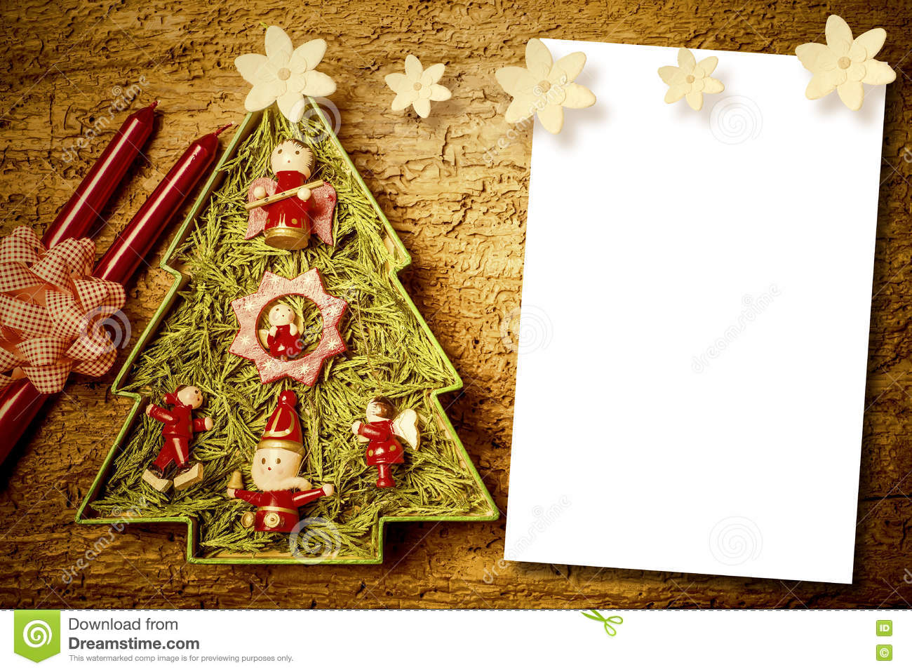 Christmas Cards Blank Space Stock Image Image Of Card Cheerful