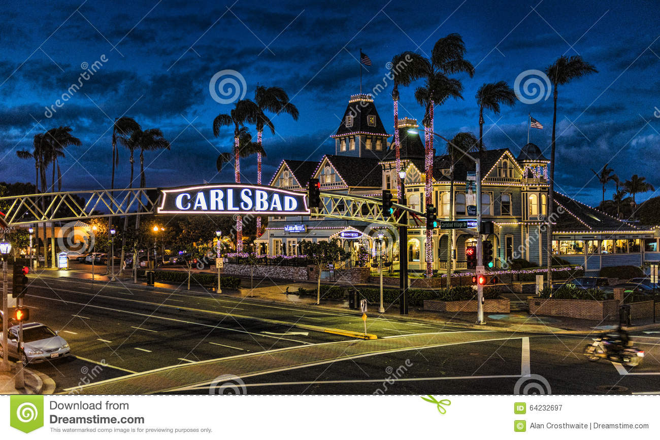 Christmas In Carlsbad Editorial Photography Image Of