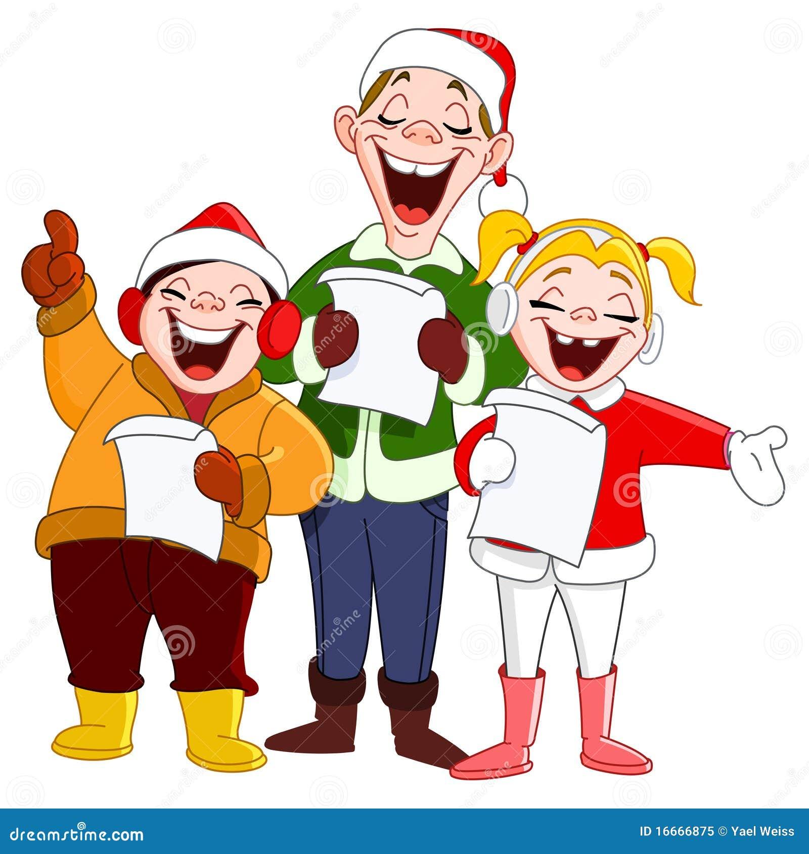 free clipart christmas carolers - photo #10