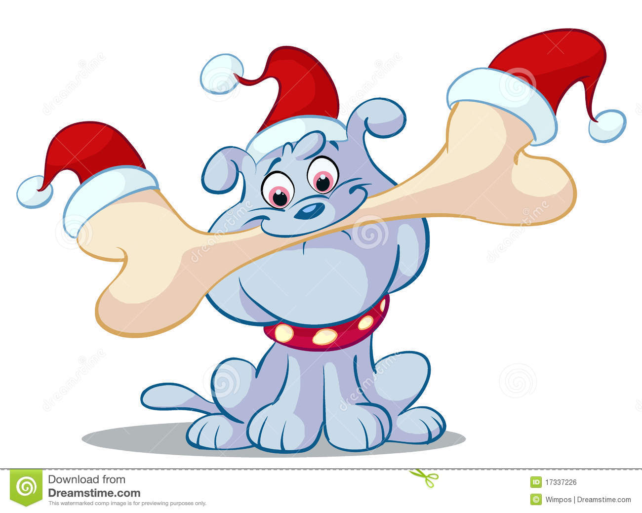 christmas cartoon royalty free stock image image 17337226