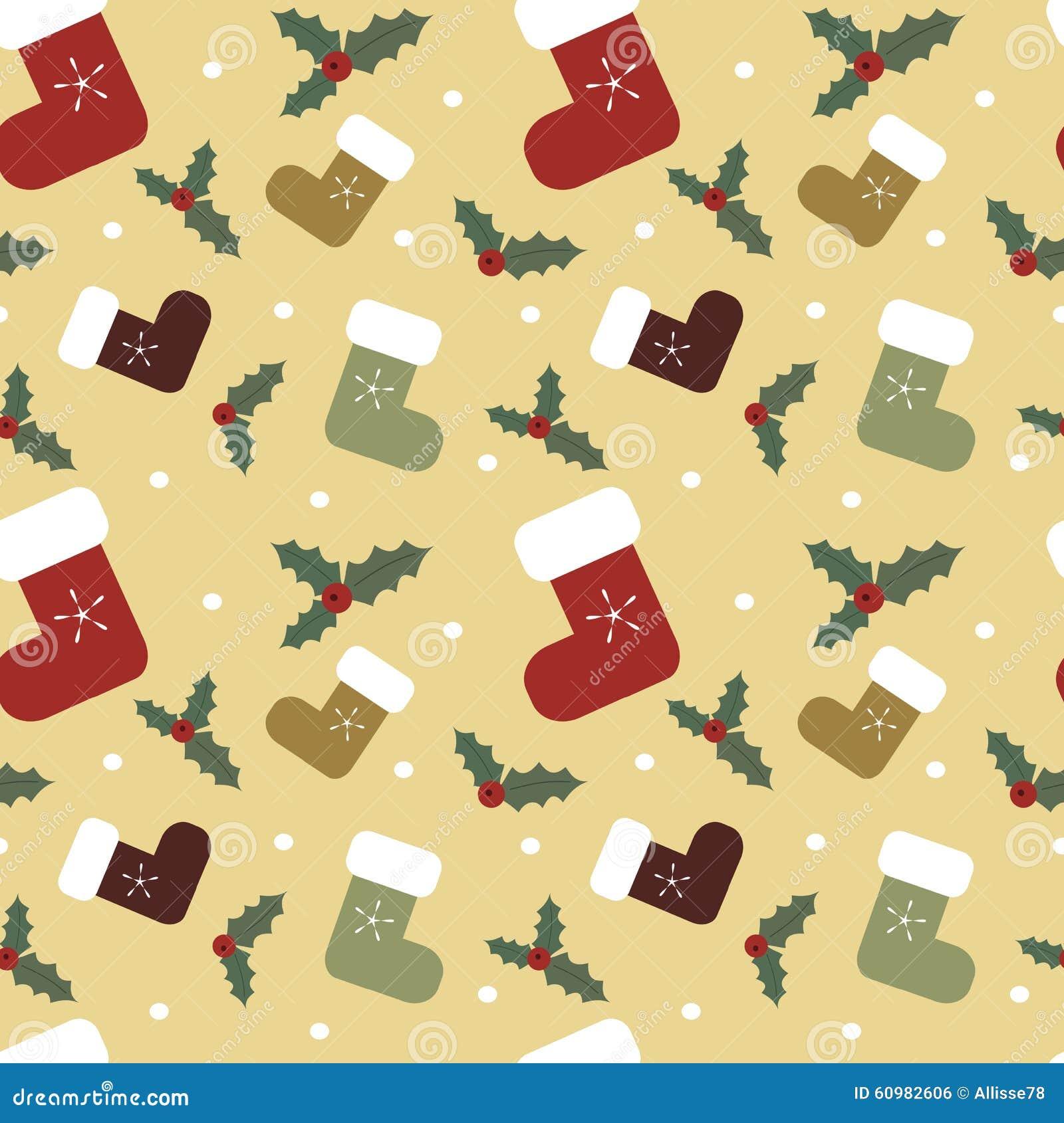 christmas cartoon colorful socks seamless pattern background