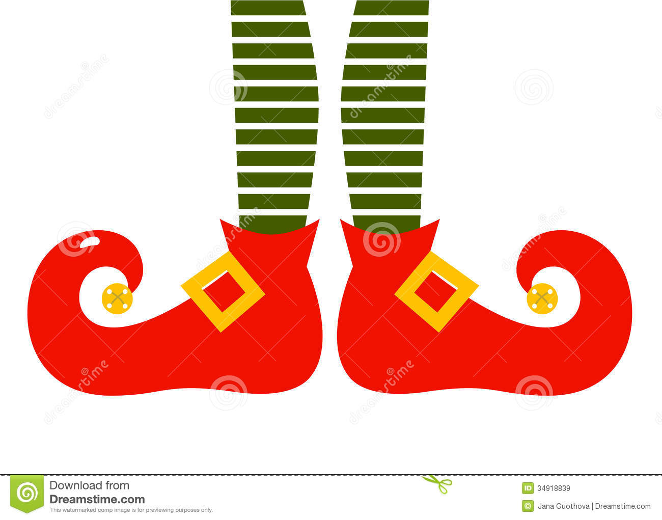 Red Shoe Elfs Animated
