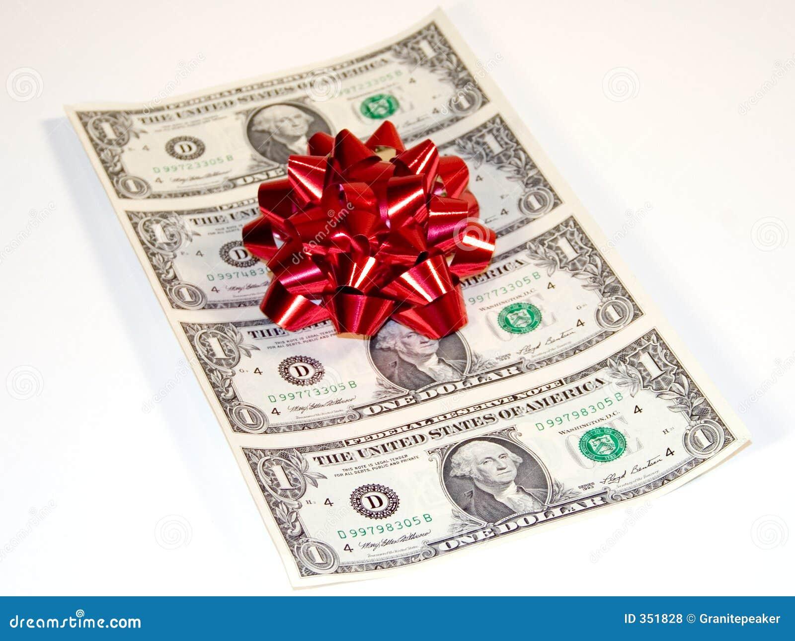 Christmas Cash Royalty Free Stock Photos - Image: 351828