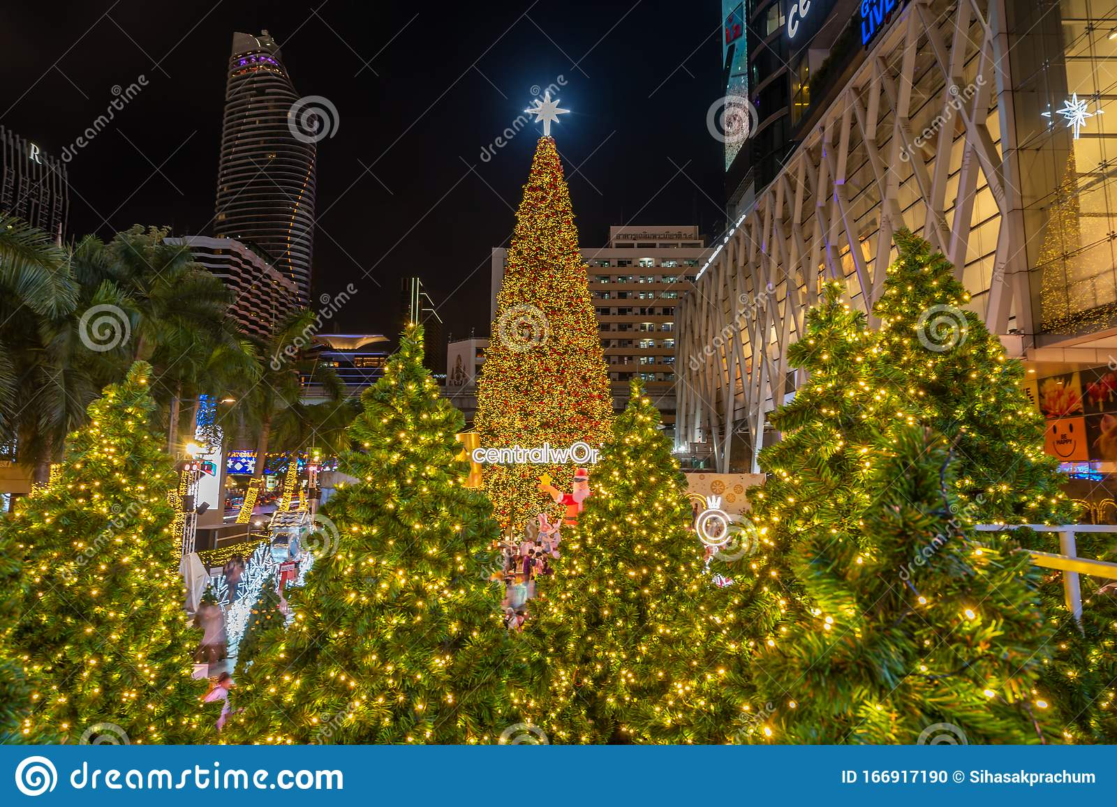 Christmas Celebration 2020 At Central World Christmas Day And Happy New Year Event In Bangkok Editorial Image Image Of Colorful Shop 166917190