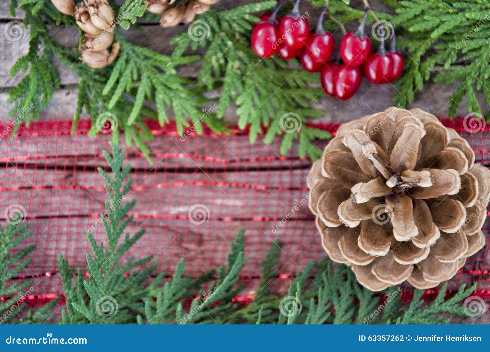 Christmas Centerpiece Stock Photo Image 63357262