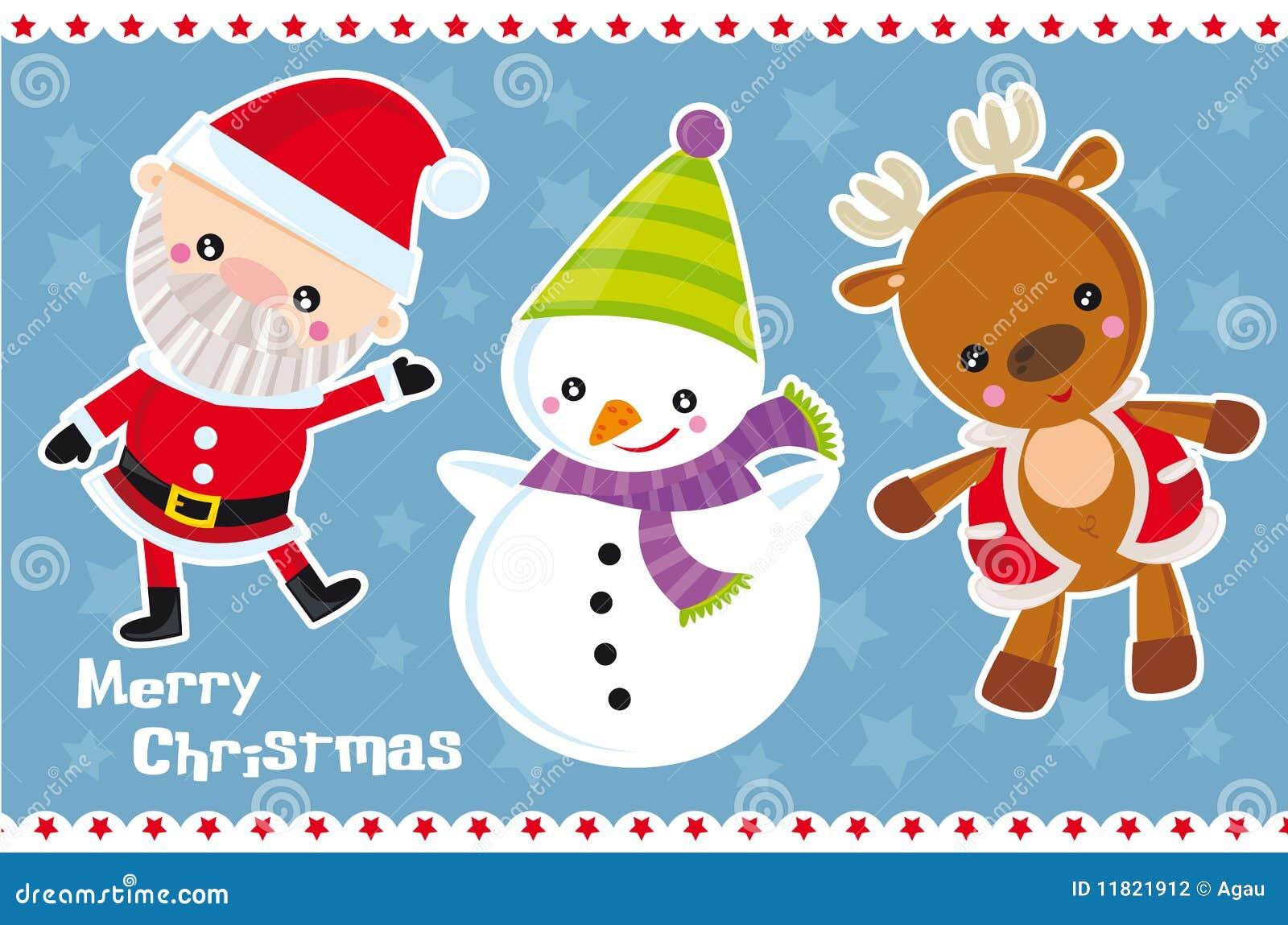 Christmas charcters