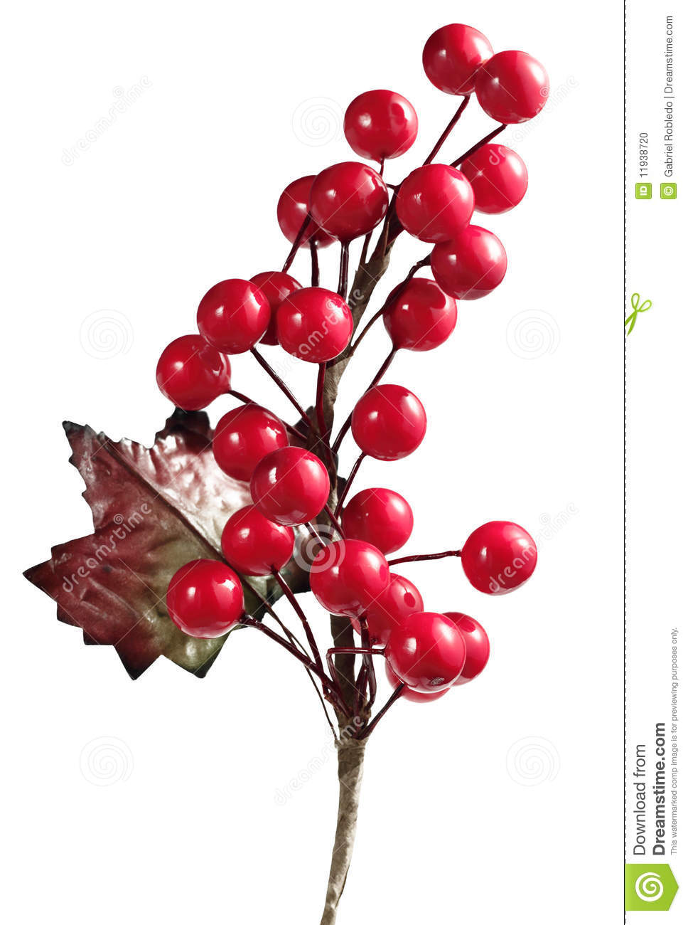 Christmas Cherry Stock Photo - Image: 11938720