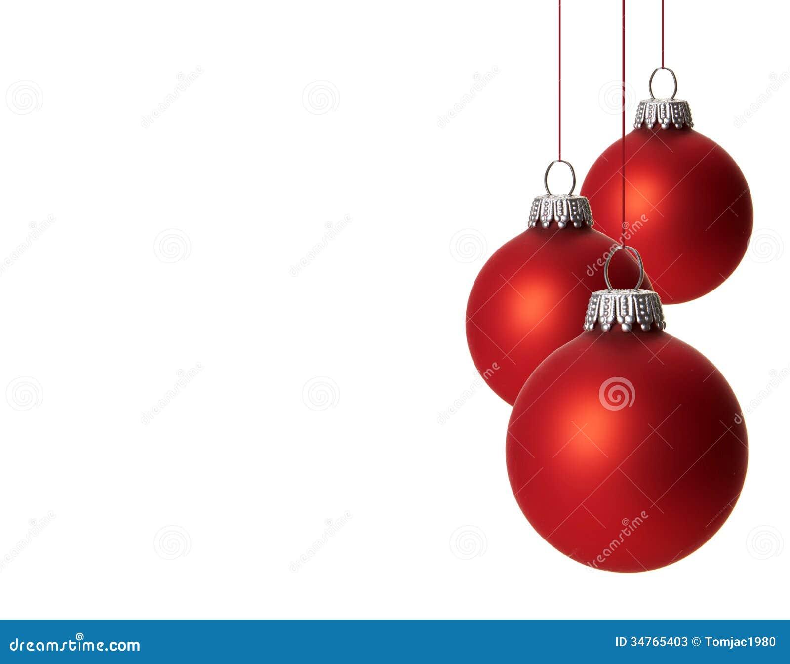 Christmas ornament stock image of card