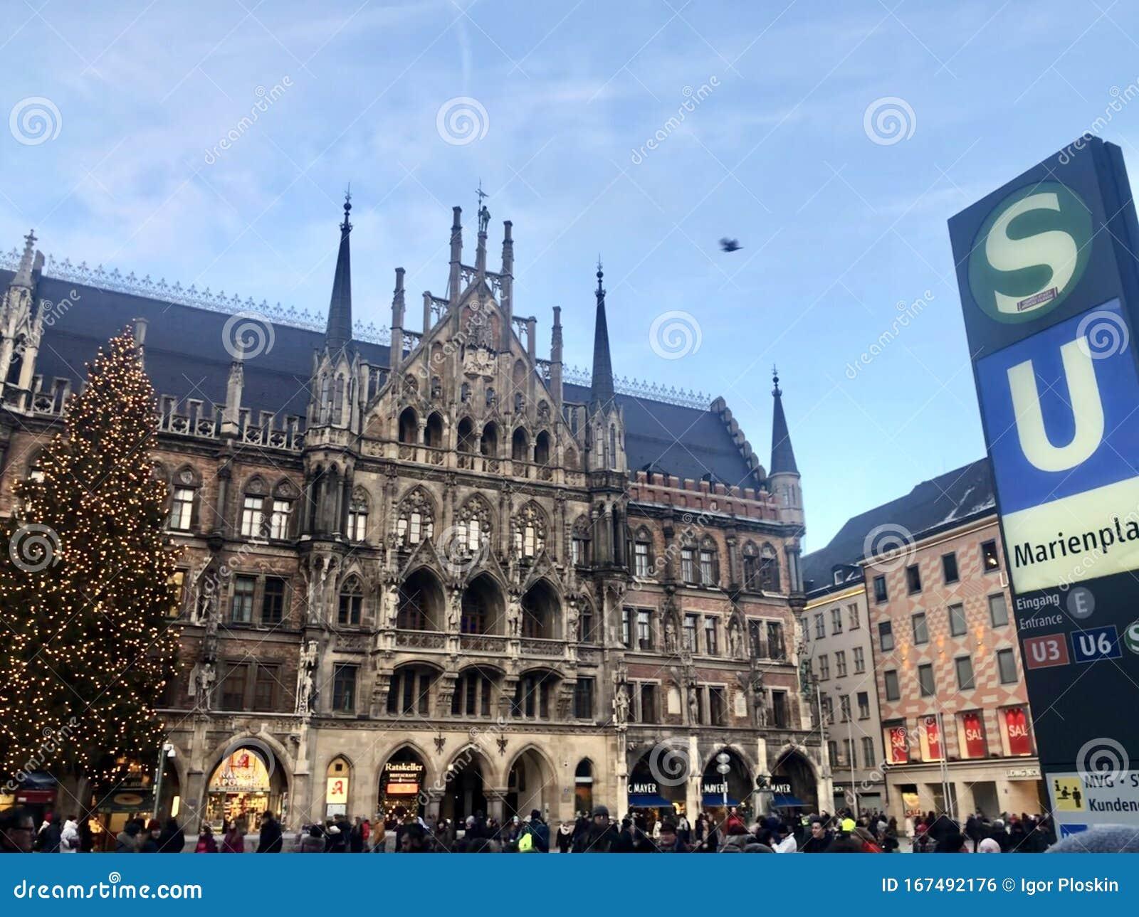 Christmas City Of Munich Editorial Photo Image Of Europe 167492176