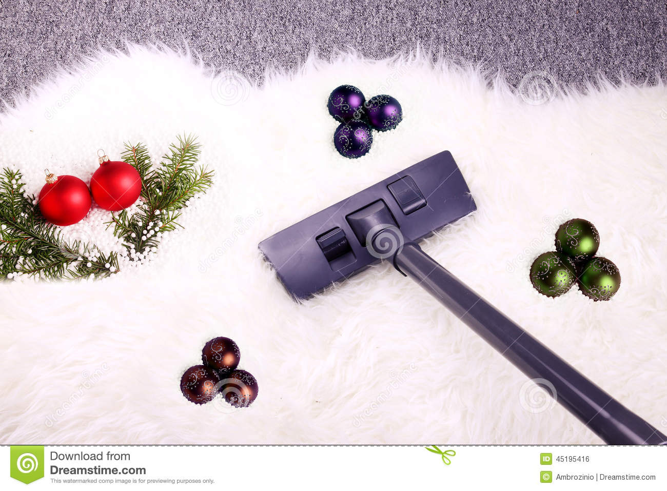 Christmas Cleaning Stock Photo Image Of Mess Chores