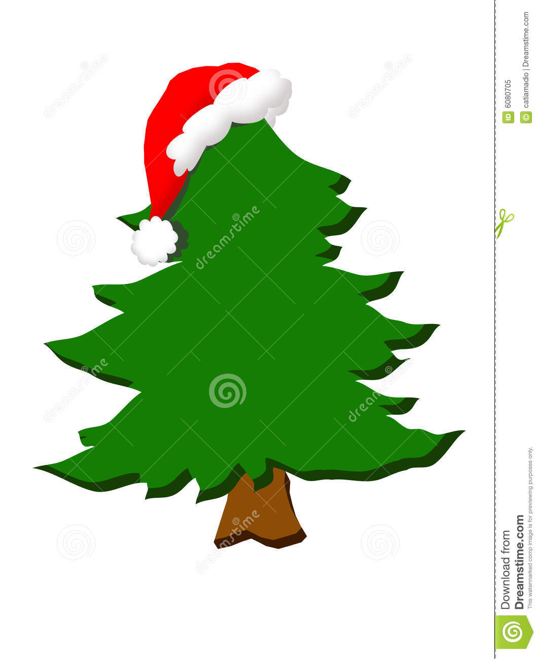 Christmas Clipart Royalty Free Stock Photo - Image: 6080705
