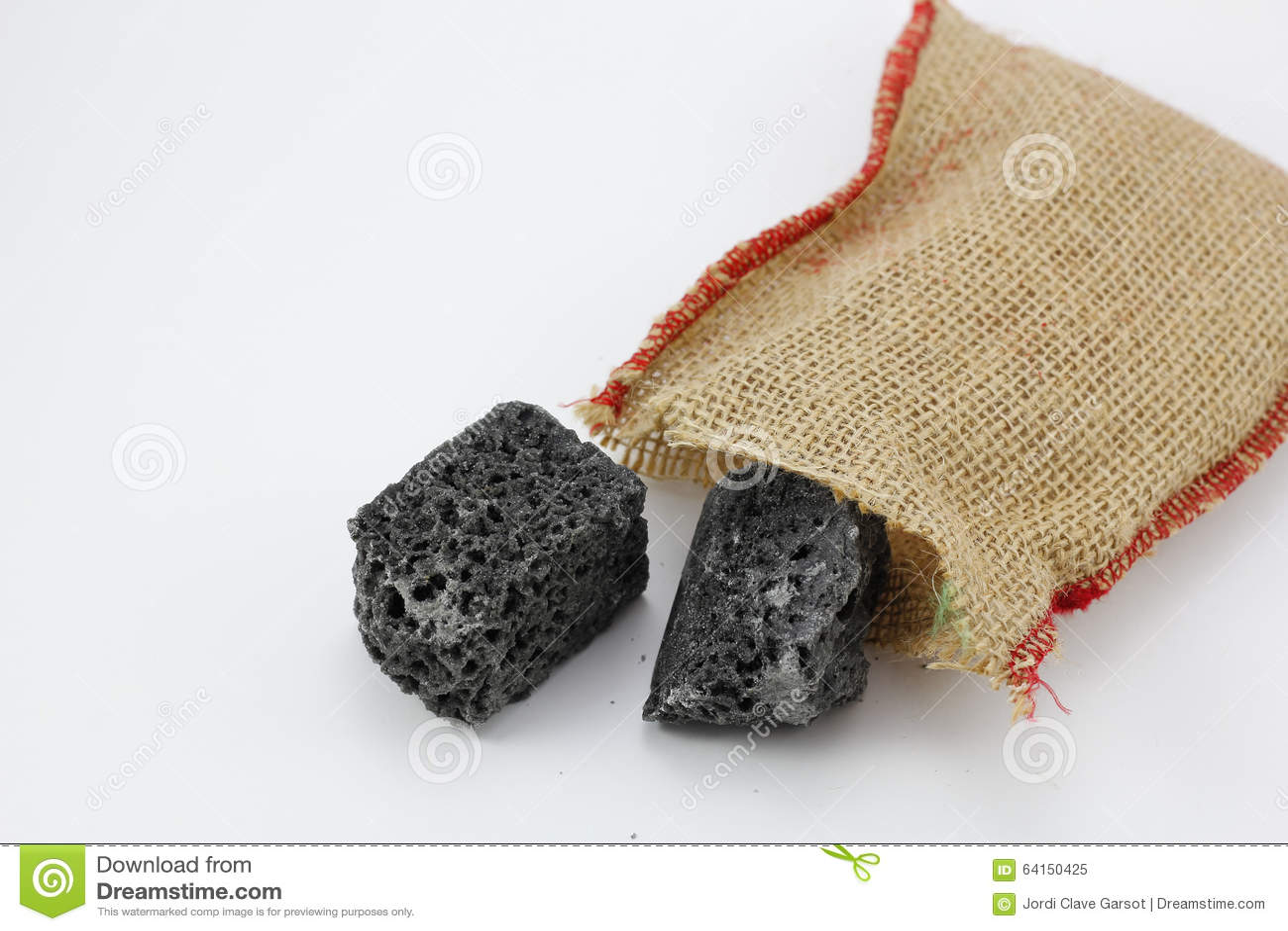 Christmas coal stock image. Image of santa, january, tradition ...