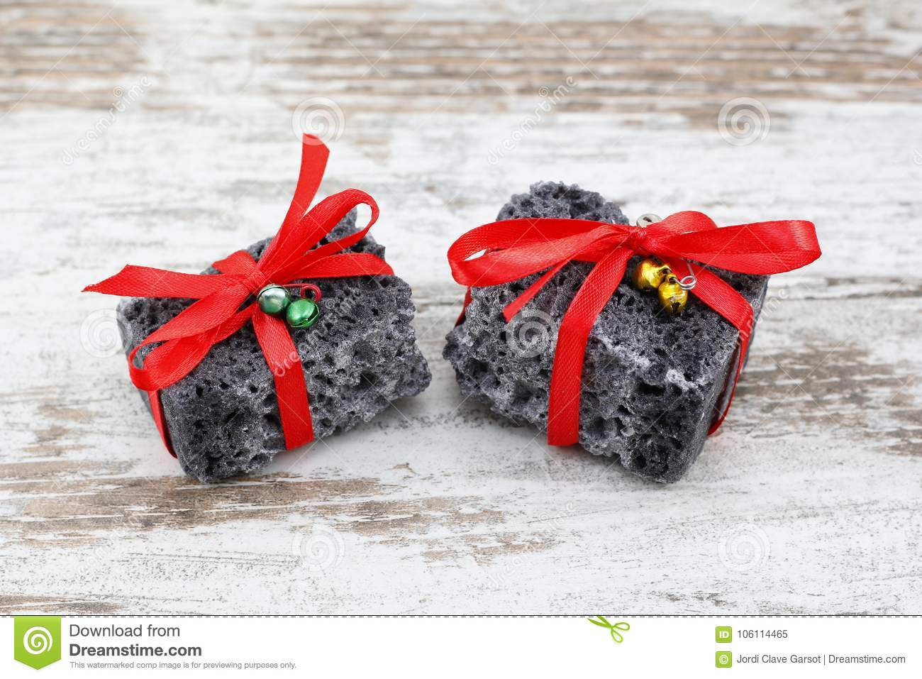 Christmas Coal In A Wood Background Stock Image - Image of naughty ...