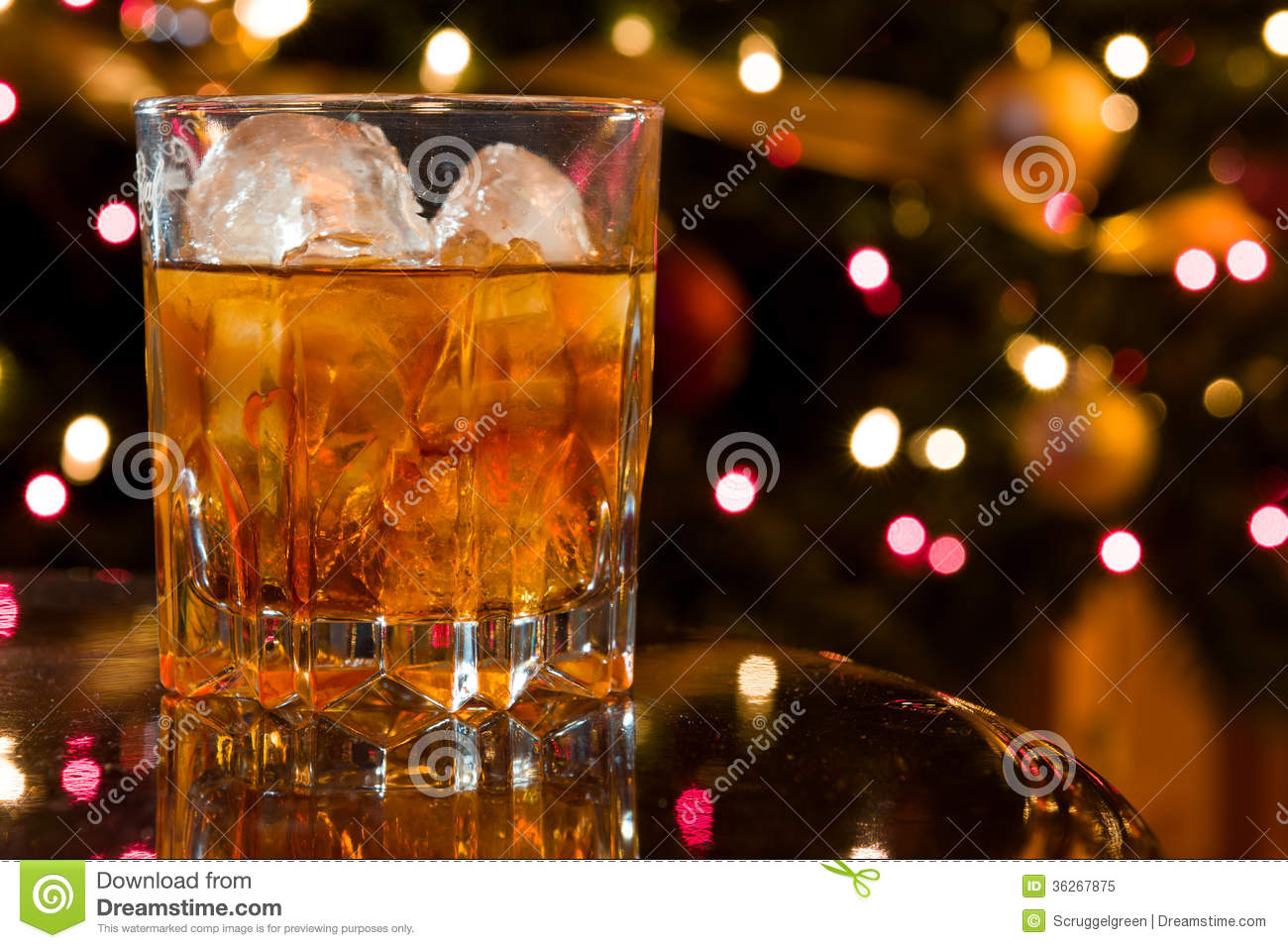 Christmas cocktail royalty free stock photo image 36267875 for Christmas in a glass cocktail