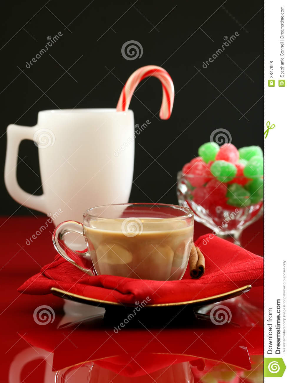 Christmas Coffee And Cocktails Royalty Free Stock Photos - Image ...