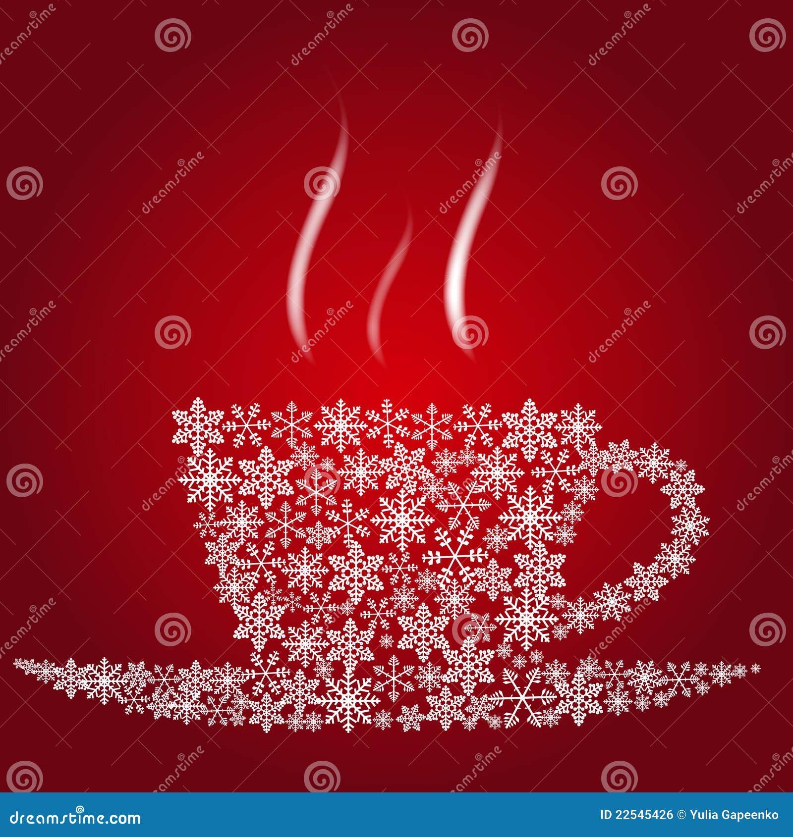 Christmas coffee cup royalty free stock image image 22545426