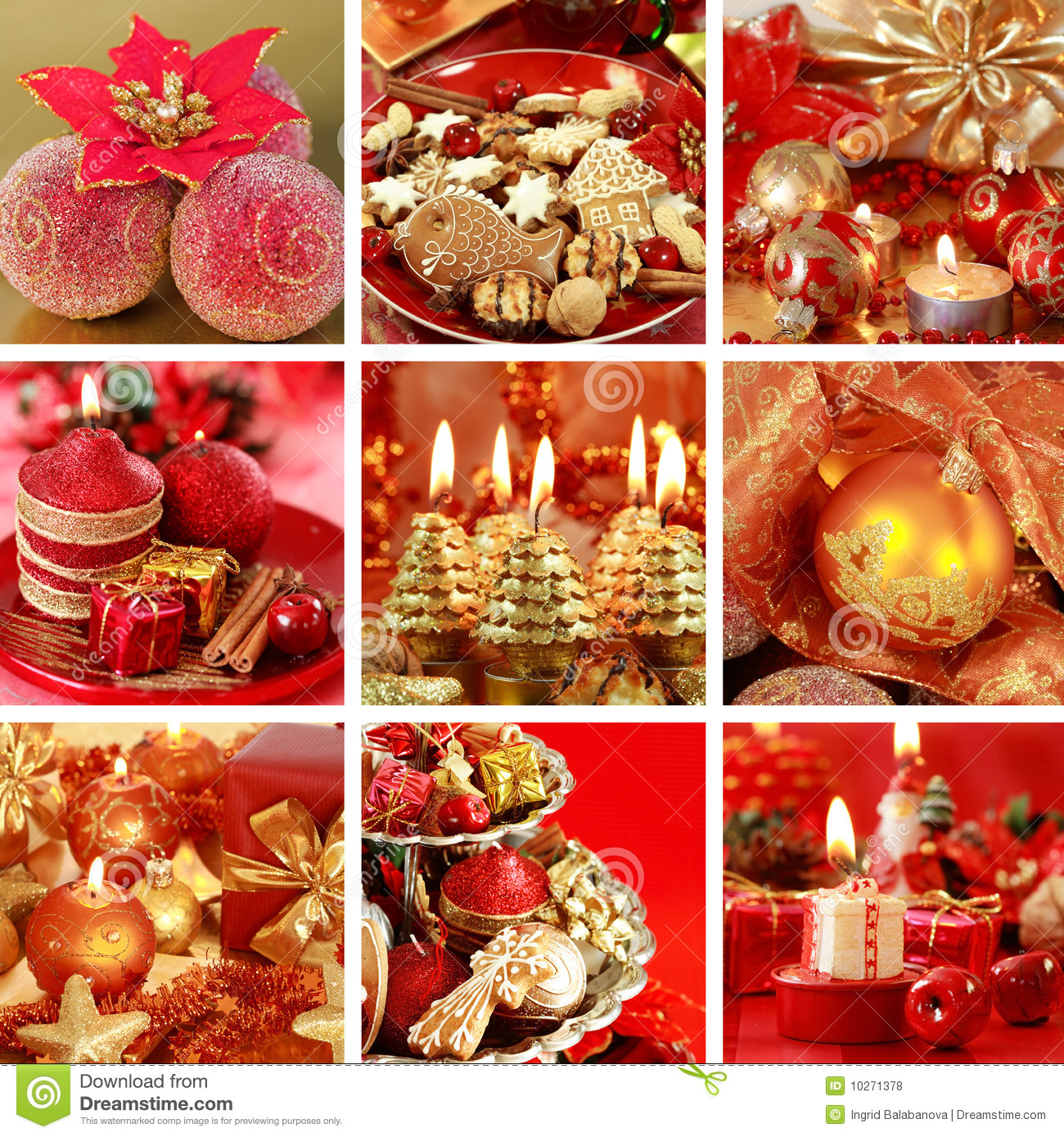 Christmas Collage Royalty Free Stock Photos Image 10271378