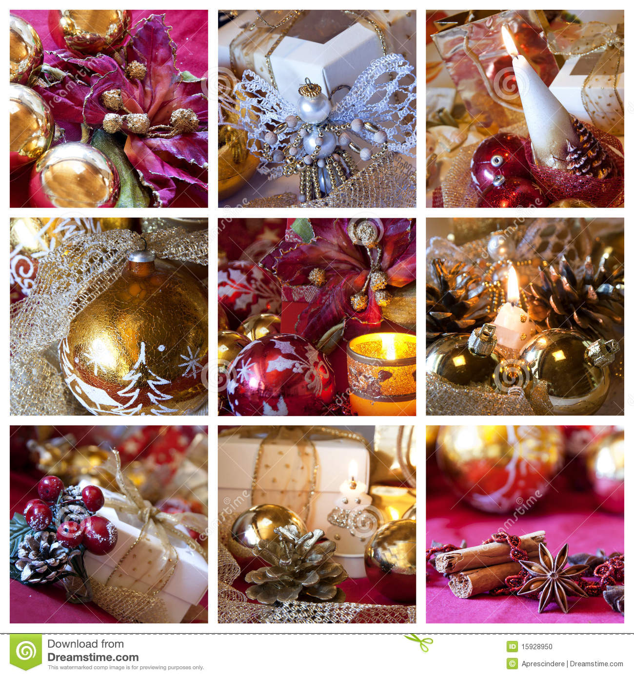 Christmas Decoration Candles