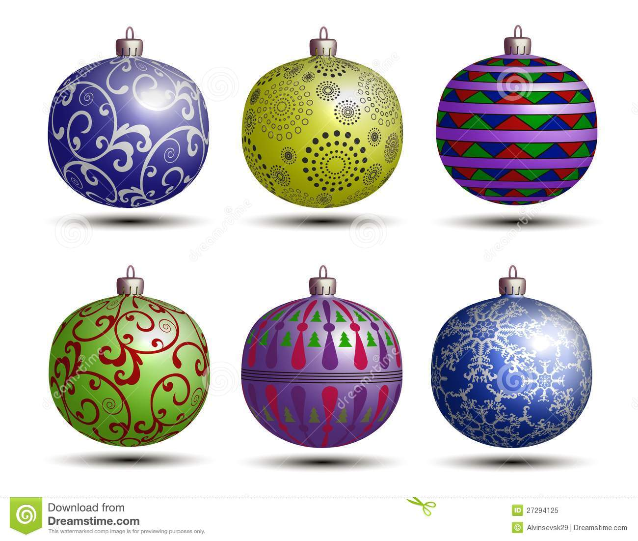 Best colored christmas balls