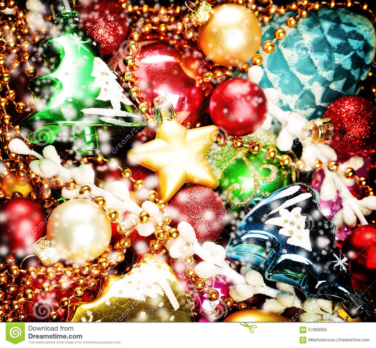 colorful new year decoration - photo #15