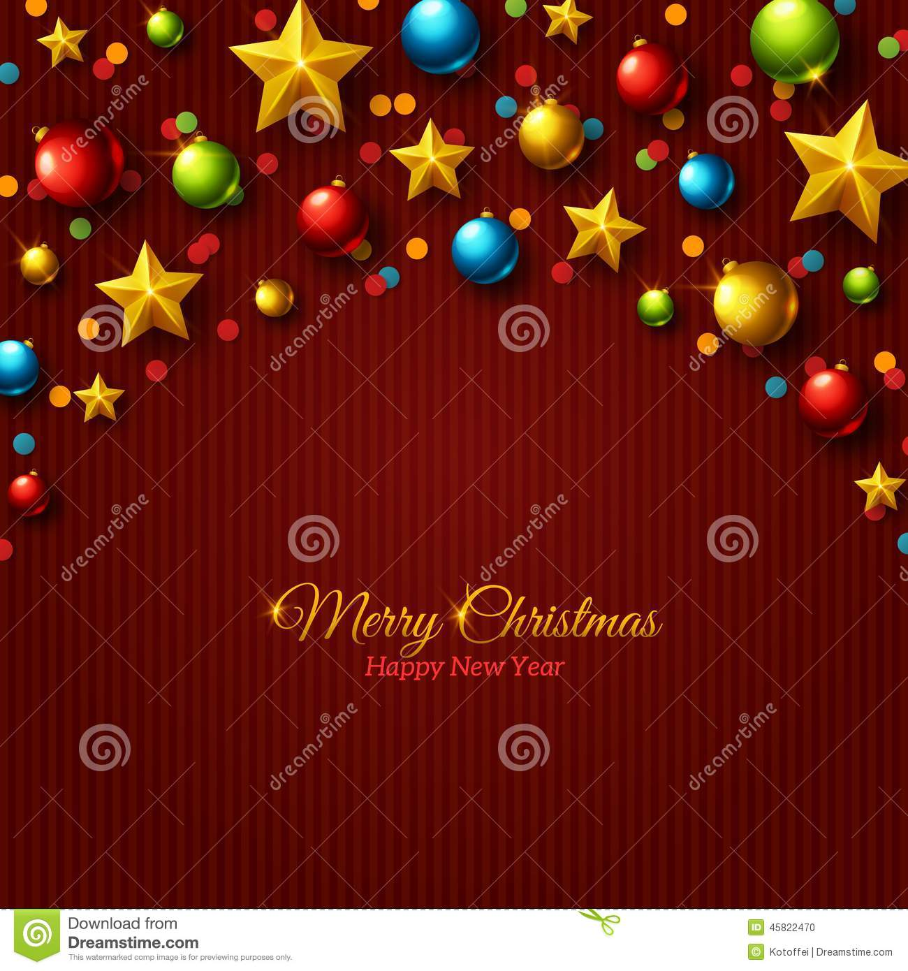 merry christmas and happy new year text holiday border great for greeting cards and invitations